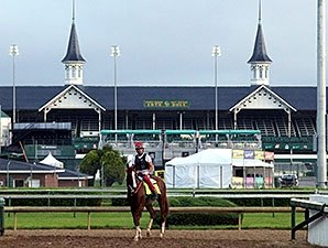 Preakness a Maryland Homecoming for Delgado