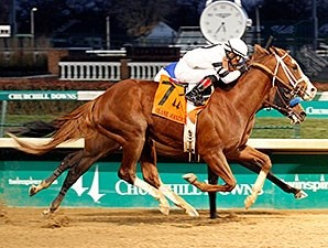 Will Take Charge ended the year with a win in the Clark Handicap.