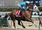 "Withgreatpleasure won the 2013 Ruffian.<br><a target=""blank"" href=""http://photos.bloodhorse.com/AtTheRaces-1/at-the-races-2013/27257665_QgCqdh#!i=2443612436&k=8H8ZL7m"">Order This Photo</a>"