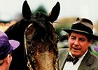 "Richard ""Dickie"" Small with his Breeders' Cup Classic winner Concern"