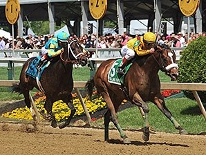 Meadowood, Class Leader Win Stakes at Pimlico