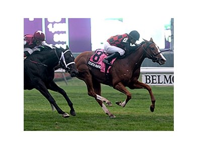 "Testa Rossi won the 2013 Miss Grillo Stakes. <br><a target=""blank"" href=""http://photos.bloodhorse.com/AtTheRaces-1/at-the-races-2013/27257665_QgCqdh#!i=2815276631&k=pLWqGG5"">Order This Photo</a>"