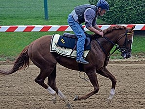 Pablo Del Monte at Pimlico on May 15.