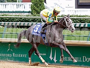 Power Me Silver comes home strong to win the Debutante.