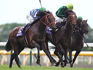 Just A Way wins the Yasuda Kinen in Japan June 8.