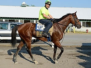 Kid Cruz at Belmont Park on June 3.