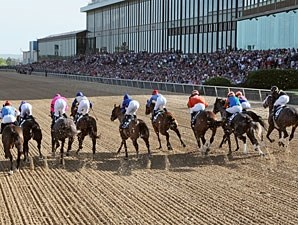 Racing at Oaklawn Park.