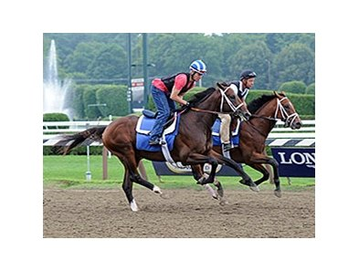 "Jess's Dream at Saratoga on August 4 <br><a target=""blank"" href=""http://photos.bloodhorse.com/AtTheRaces-1/At-the-Races-2014/i-2KVw8BW"">Order This Photo</a>"