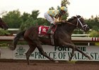 Uncaptured won the Prince of Wales Stakes by a length at Fort Erie on July 30.