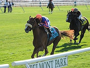 Minorette won the Belmont Invitational Oaks by 2 lengths.
