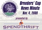 Breeders' Cup News Minute: Nov. 4