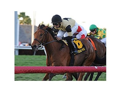 "Twilight Eclipse won the 2014 Mac Diarmida Stakes. <br><a target=""blank"" href=""http://photos.bloodhorse.com/AtTheRaces-1/At-the-Races-2014/35724761_2vdnSX#!i=3076734092&k=BhwPQTT"">Order This Photo</a>"