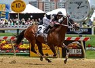 "Happy My Way wins the 2014 Maryland Sprint Handicap. <br><a target=""blank"" href=""http://photos.bloodhorse.com/AtTheRaces-1/At-the-Races-2014/i-LfP4qMV"">Order This Photo</a>"