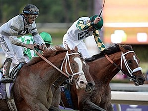 "Mucho Macho Man's Breeders' Cup Classic Win was voted ""Moment of the Year."""