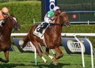 "Seek Again comes home strong to win the Fourstardave Handicap.<br><a target=""blank"" href=""http://photos.bloodhorse.com/AtTheRaces-1/At-the-Races-2014/i-2q4BP9g"">Order This Photo</a>"