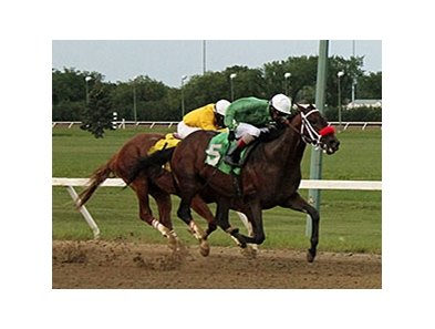 Edison won the Harry Jeffrey Stakes on July 16.