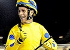 Jorge Ricardo celebrates after winning the Champions Challenge at Hipodromo Cristal in Brazil on Sept. 18, 2014.