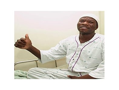 Khayalethu Eric Jeyu recovering in the hospital