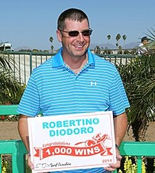Diodoro Reaches 1,000th Win at Turf Paradise