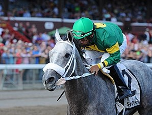 Stonetastic won the Prioress Stakes by 8 1/2 lengths.