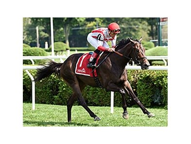 "Startup Nation wins the 2014 With Anticipation Stakes. <br><a target=""blank"" href=""http://photos.bloodhorse.com/AtTheRaces-1/At-the-Races-2014/i-P7n4B9p"">Order This Photo</a>"