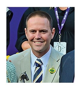 Trainer Chad Brown