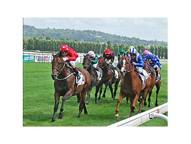 Garswood wins the Prix de Maurice Gheest.