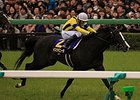 "Isla Bonita won the Satsuki Sho on April 20.<br><a target=""blank"" href=""http://photos.bloodhorse.com/AtTheRaces-1/At-the-Races-2014/35724761_2vdnSX#!i=3191537777&k=HSb4pgJ"">Order This Photo</a>"