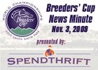 Breeders' Cup News Minute: Nov. 3