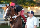 California Chrome Back to Work for Sherman
