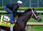 Intense Holiday jogs at Churchill Downs.