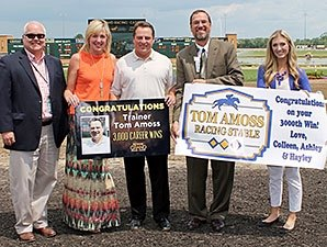 Tom Amoss Secures 3,000th Training Victory