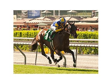 Big Kick rolls to victory in the San Juan Capistrano.