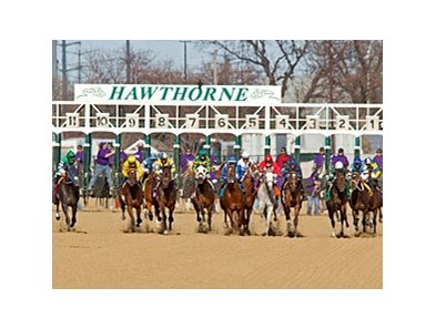 Hawthorne has asked to conduct live racing from Jan. 1 through April 27, then from Oct. 1 through Dec. 31.