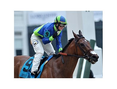 "Delaunay won the 2013 Churchill Downs Stakes by four lengths.<br><a target=""blank"" href=""http://photos.bloodhorse.com/AtTheRaces-1/at-the-races-2013/27257665_QgCqdh#!i=2492964229&k=zxnDPVM"">Order This Photo</a>"