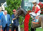 "2013 Kentucky Derby winner Orb<br><a target=""blank"" href=""http://photos.bloodhorse.com/TripleCrown/2013-Triple-Crown/Kentucky-Derby-139/29213460_Rcqkd4#!i=2493507617&k=b9hVvb3"">Order This Photo</a>"