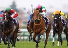 Harp Star wins the Oka Sho. 
