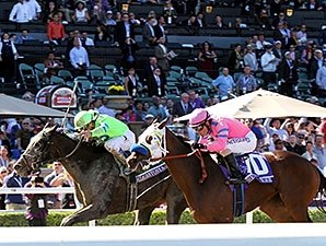 2-Year-Old Filly Division a Photo Finish