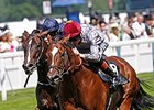 "Toronado (right) won the 2014 Queen Anne Stakes. <br><a target=""blank"" href=""http://photos.bloodhorse.com/AtTheRaces-1/At-the-Races-2014/i-rRWrvFm"">Order This Photo</a>"