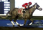 Octavio Vergara Jr. winning aboard Drop to Pop at Woodbine on Aug. 20.