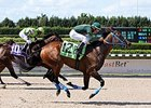 Grand Tito comes home strong to win the Miami Mile Handicap at Calder.