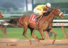 Grace Hall won the 2011 Spinaway Stakes.