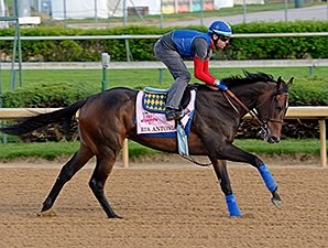 Ria Antonia Moved to Amoss, Eyes Preakness