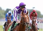 "Australia and Joseph O'Brien take the Juddmonte International.<br><a target=""blank"" href=""http://photos.bloodhorse.com/AtTheRaces-1/At-the-Races-2014/i-RZh74Tc"">Order This Photo</a>"