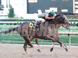 Island Bound wins the 2012 Winning Colors.