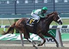 "Friend Or Foe wore down pacesetter General Maximus and drew clear to win the Mike Lee Stakes at Belmont Park. <br><a target=""blank"" href=""http://www.bloodhorse.com/horse-racing/photo-store?ref=http%3A%2F%2Fpictopia.com%2Fperl%2Fgal%3Fprovider_id%3D368%26ptp_photo_id%3D9074385%26ref%3Dstory"">Order This Photo</a>"
