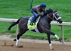 Oxbox worked five furlongs in :59 4/5.