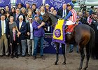 "Breeders' Cup Classic winner Bayern<br><a target=""blank"" href=""http://photos.bloodhorse.com/BreedersCup/2014-Breeders-Cup/Classic/i-2tdtBsM"">Order This Photo</a>"