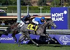 "Outstrip outfinishes Giovanni Boldini to win the Breeders' Cup Juvenile Turf. <br><a target=""blank"" href=""http://photos.bloodhorse.com/BreedersCup/2013-Breeders-Cup/Juvenile-Turf/33149766_jd8s87#!i=2876321905&k=jNpRDKN"">Order This Photo</a>"