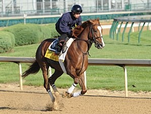 Dullahan - Churchill Downs, April 27, 2012.